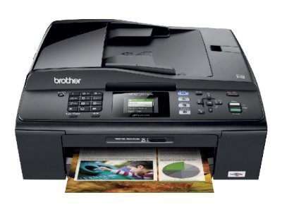 BROTHER MFC-J415W  (All-in-one) (Print,Scan,Copy,Fax) Inkjet Color Printer / wireless / (Print 6000x1200 dpi * ดำ 35 ppm * สี 28 ppm, 40 MB)